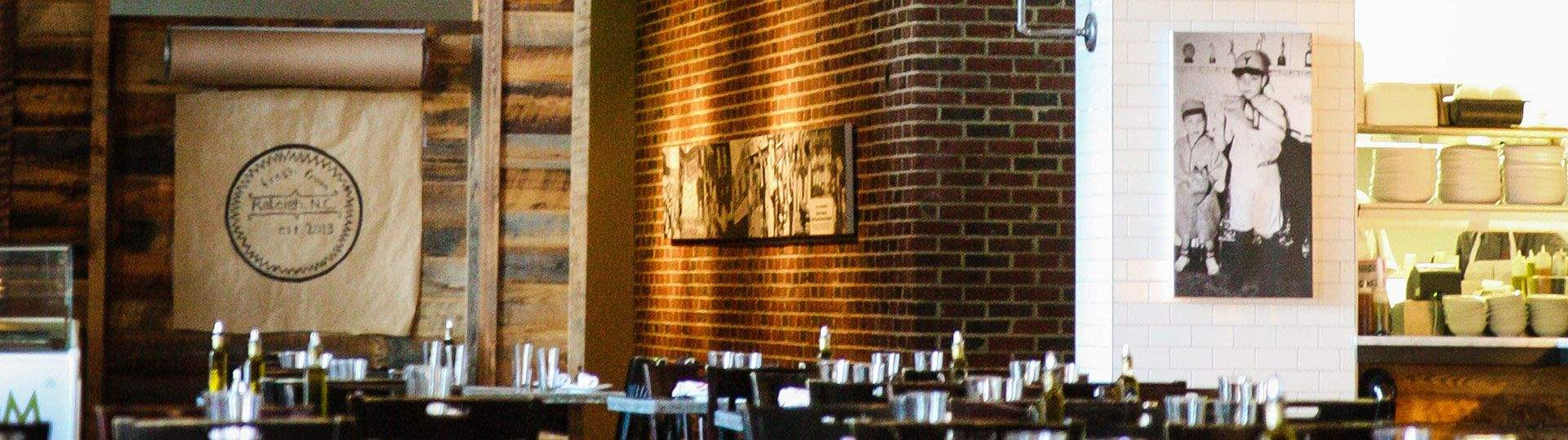 Jimmy V's Osteria + Bar, North Carolina - Site Map